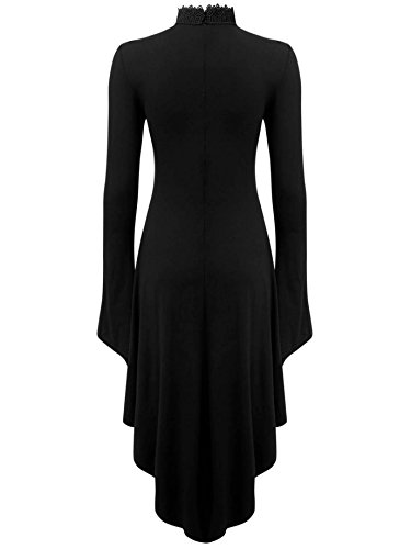 Sprite Shadow Dress Kleid Schwarz Killstar AzxOqC