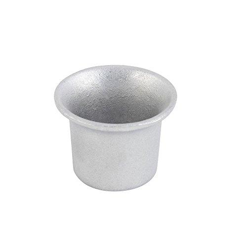 Bon Chef 9018 PEWTER Aluminum 2 Oz. Cocktail Sauce Cup - 24 / CS
