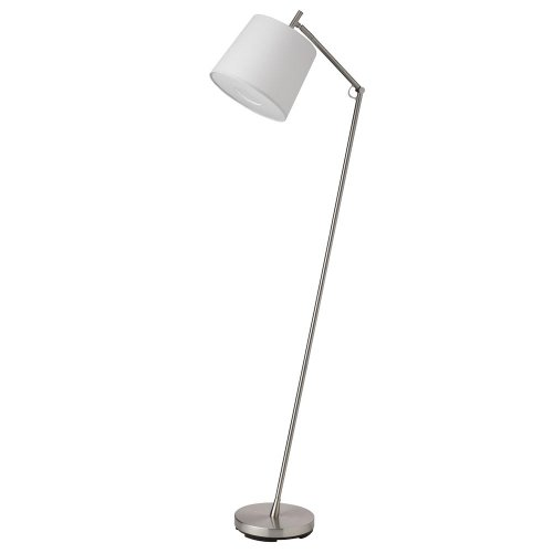 Dainolite Lighting DVN-039F-SC Dainovision Floor Lamp with White Tapered Drum - Eco Floor Lamp Task