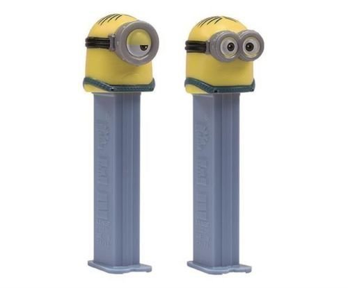 Despicable Me Minions Pez & 2 Fillers - 1 of Each Design