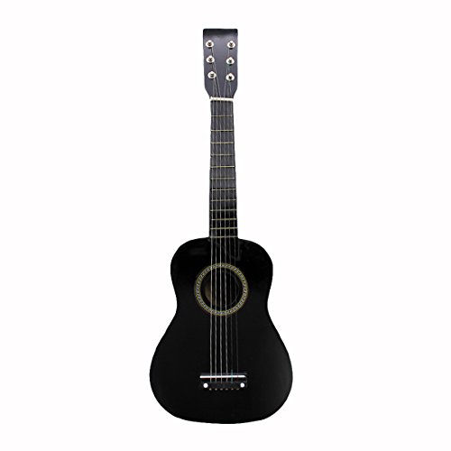 "Blueseason Kids Guitar New Mini 23"" Beginners Student Children Classical Acoustic Guitar, Black - Image 1"