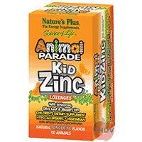 Nature's Plus - Kidzinc Lozenges-Tangerine, 90 chewable tablets