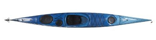 - Boreal Design Epsilon P100 PE Rudder Sea Kayak, White/Blue