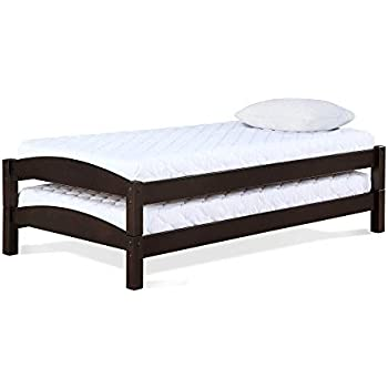 Amazon.com: Zinus Suzanne Twin Daybed and Trundle Frame Set ...