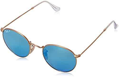 53d5944955a Ray-Ban Round Metal RB 3447 Sunglasses   HDO Cleaning Carekit Bundle