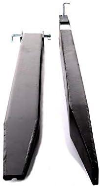 Paar Stapler Gabeln Gabelstapler Gabelverl/ängerung geschlossen 1600 mm Verl/ängerung f