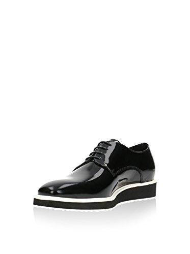 De Zapatos Rossi Negro Gino 41 Cordones Eu BZEwcx