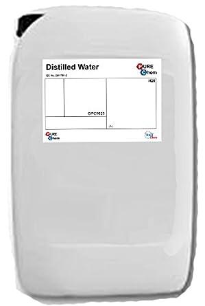 Agua destilada Pure Chem, 1L, 1: Amazon.es: Industria, empresas y ciencia