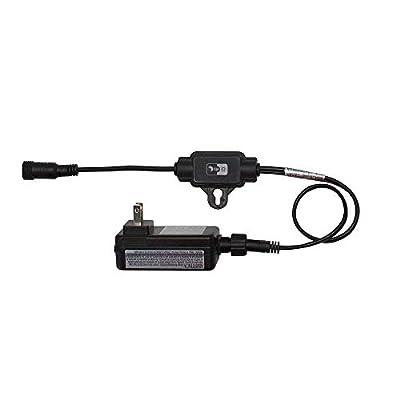 Hampton Bay HD33678BK Low Voltage Black Outdoor Integrated LED Landscape Path Light (6-Pack Kit)