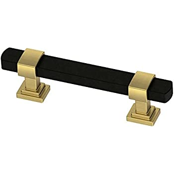 Black And Brass Cabinet Knob And Pulls Handle Furniture