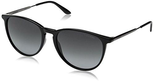 (Carrera Ca5030s Square Sunglasses, Black Dark Ruthenium/Gray Gradient, 54 mm)
