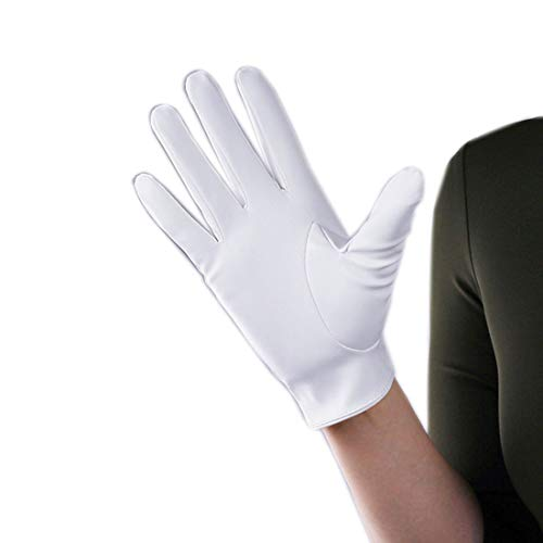 (Suede Gloves Faux Leather 8
