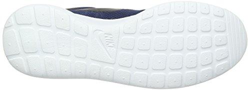 Nike Herren Roshe One Low-top Blau (405 Blu Notte / Nero-bianco)