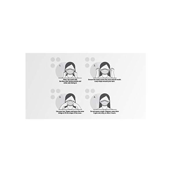 NordicTrio-Medizinischer-Mundschutz-x50-Typ-IIR-3-lagige-Einmalmasken-Mundschutz-Mehrlagiger-Vliesstoff-mit-hoher-Filtrationskapazitt