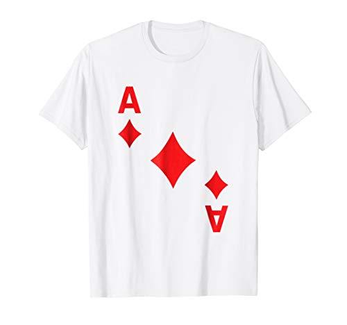 Ace of Diamonds Shirt poker playing card halloween costume