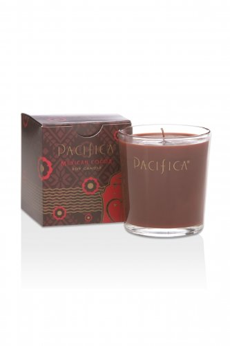 Mexican Cocoa 5.5oz Soy Candle by Pacifica Perfume by Pacifica