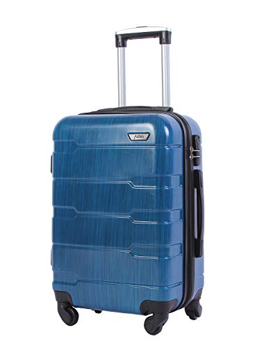 AZBRO Light Weight Hard shell Luggage Arrow Stripe Hard Side ABS+PC Suitcase (20 -