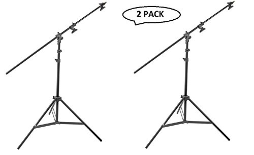 Impact Multiboom Light Stand and Reflector Holder - 13' (4m) 2 Pack by Impact