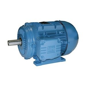 WEG 00136EP3WAL80 TEFC Aluminum Frame IEC Tru-Metric Electric Motor, 1.5 HP, 3-Phase, 3410 RPM, 460 V, 50/60 Hz, Frame 80