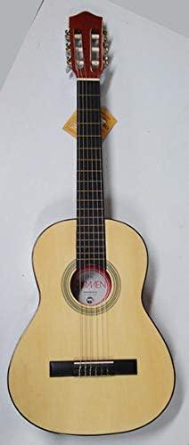 Guitarra clásica Carmen Y-20 de tamaño 3/4 para niños de 9 a 12 años