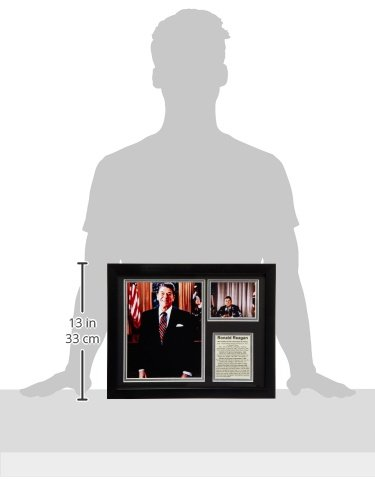 Legends Never Die Ronald Reagan Framed Photo Collage 11x14-Inch