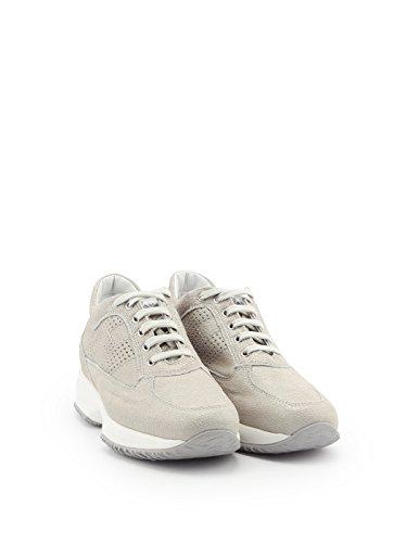 Pelle Bianco Donna Hogan Sneakers HXW00N00E30I6FB001 07wtY
