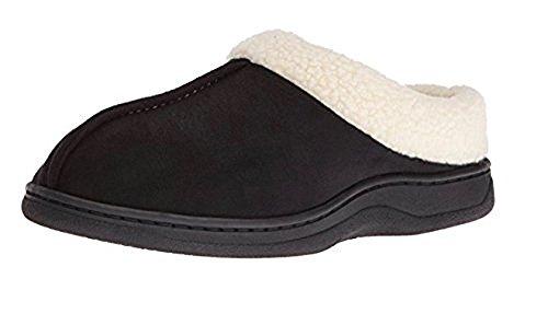 Carafoams Pantofole Con Zoccoli Uomo In Camoscio Nero