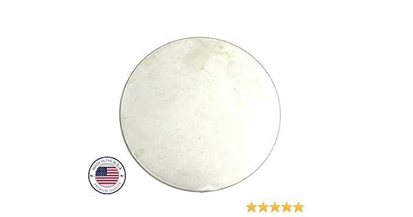 "2-5//8/"" 2.63/"" Diameter 1//8/"" Steel Disc Circle Round .125/'/' A36 Steel"