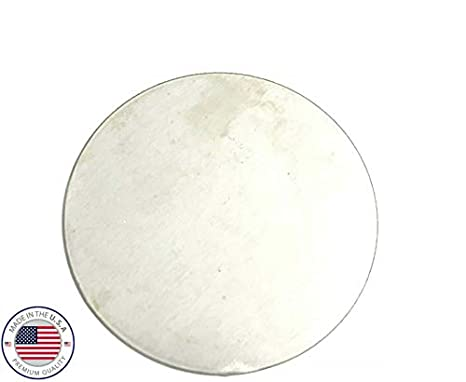 """1//8/"""" Steel Plate 5/"""" Diameter Circle Round Disc Shaped .125 A1011 Steel"""