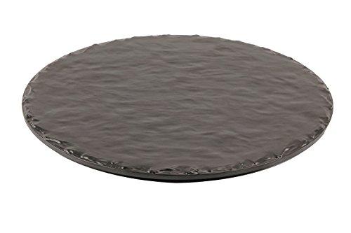 Slate Melamine Serving Platter, 12