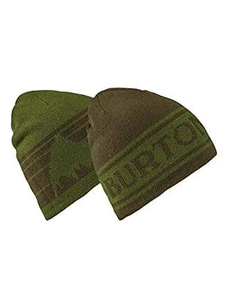 Burton Snowboards Men's Billboard Beanie Hat, Clover/Forest Night, One Size