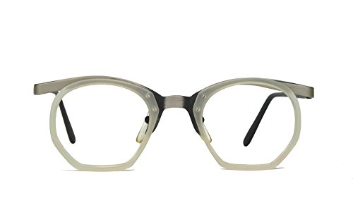 Club LA 9700 Crystal Hexagon Eyeglasses - Hexagon Eyeglass Frames
