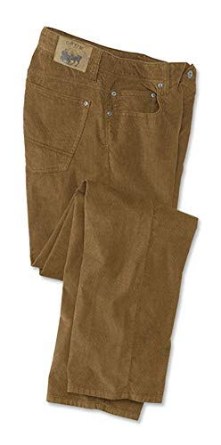 Inseam Mens Corduroy Pants - Orvis Men's 1856 Stretch Cords, Tobacco, 38, Inseam: 30 Inch
