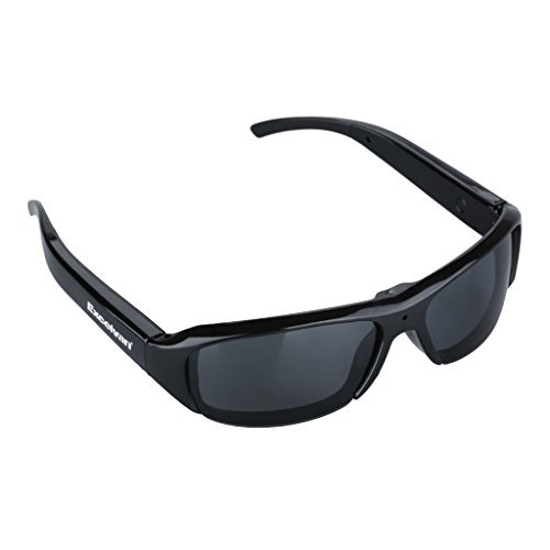 Excelvan HD Polarized Sunglasses Mini Camera Video Audio Rec
