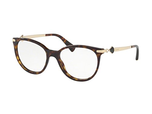 Bvlgari Women's BV4143B Eyeglasses Dark Havana 53mm