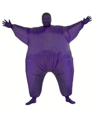 Rubie's Inflatable Full Body Suit Costume, Purple, One Size ()