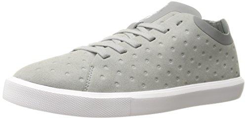 Monaco Nacré Bas Non Perf Mode Sneaker Pgngry / Shlwht