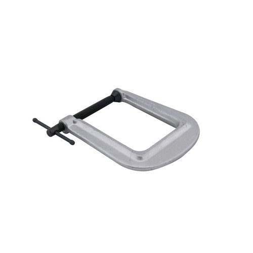 Wilton 42510 Deep-Reach Carriage C-Clamp, 0 in. - 1 in. Jaw Opening, 3 in. Throat - Throat Deep Pattern