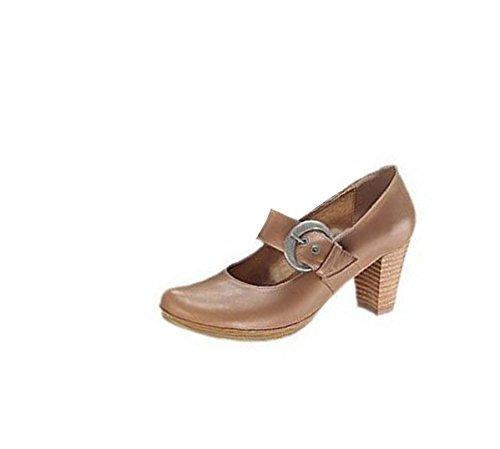 Andrea Conti Pumps sand - Zapatos de vestir de cuero para mujer marrón - arena