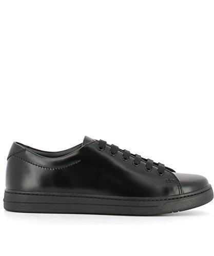Nero Prada 4E311610NJF0002 Sneakers Uomo Sport Pelle 04CwZz