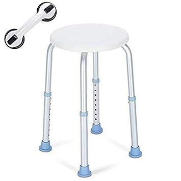 Amazon.com: Taburete de ducha OasisSpace, silla de baño ...