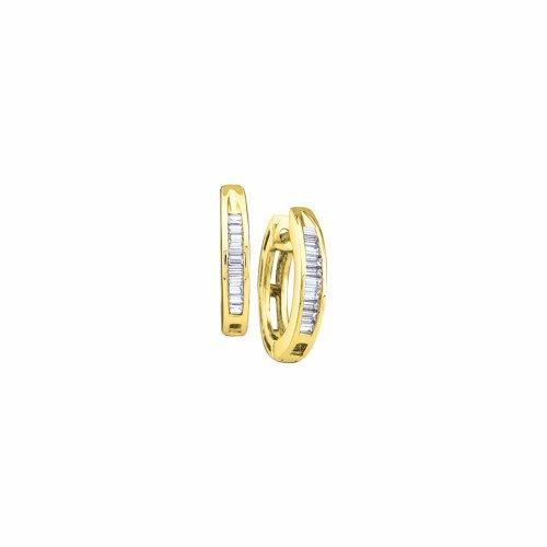 1/6 Total Carat Weight DIAMOND LADIES FASHION HOOPS by Jawa Fashion