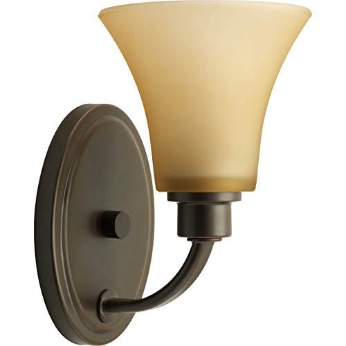 (Progress Lighting P2000-20 Joy Collection 1-Light Vanity Fixture, Antique Bronze)