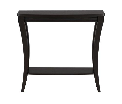 ioHOMES Danita Graceful Console Table, Cappuccino (Sofa High 36 Table Inches)