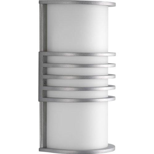 Progress Lighting P5914-16 1-Light ADA Wall Lantern, Satin Aluminum ()