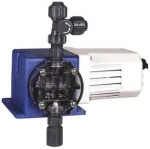 X024-XA-AAAFXXX:PULSATRON-Pulsatron Chemtech 100 Metering Pump 115 Pulsatron Chemtech Series 100 Diaphragm Metering Pump, 115V, 24 GPD Max, San/PVC/CSPE/Ceramic Liquid End, .44'' PVC X .50'' BLK Pe Tubing