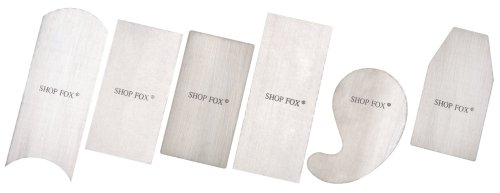 Shop Fox D3294 Scraper 6 Piece