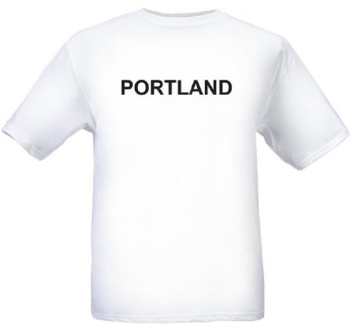 PORTLAND - City-series - White T-shirt - size Small]()