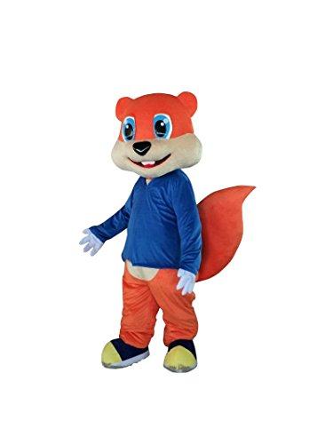 Squirrel Chipmunk Fox Adult Mascot Costume Cosplay Fancy