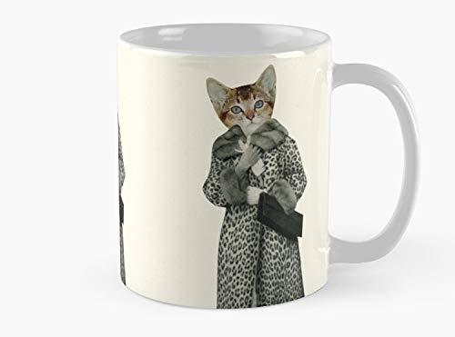 Kitten Dressed as Cat Mug, Standard Mug Handmade Coffee Tea Mug - Unique Gifting ideas